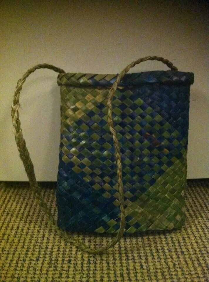 My very first kete.