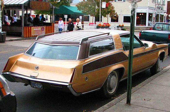 A 1970 Eldorado customized into a station wagon, complete ...