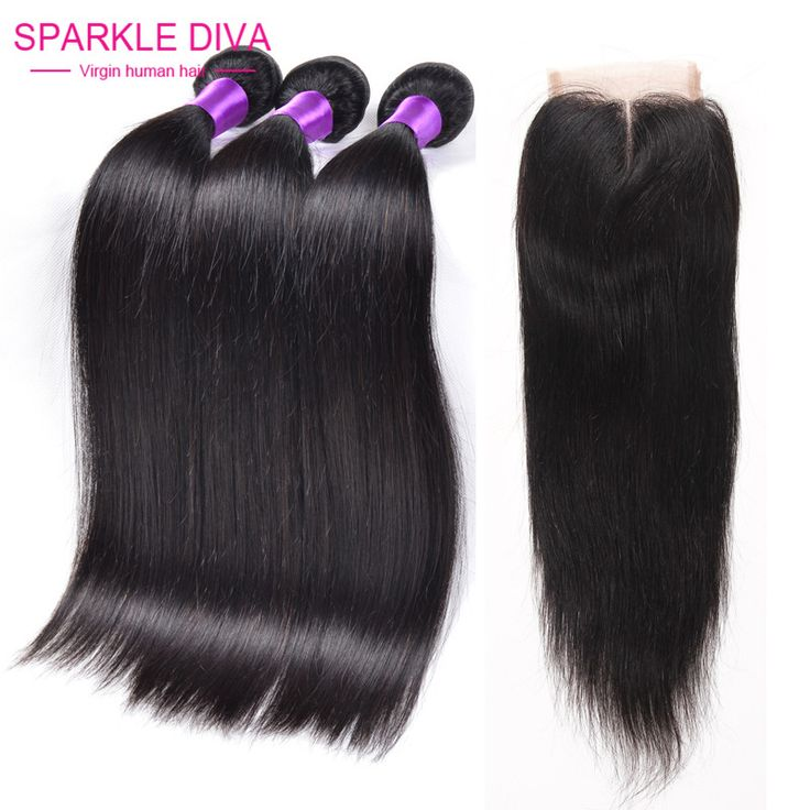 Brazilian Virgin Hair Straight With Closure Grace Hair Company Products With Closure Cheap Brazilian Hair 3 Bundles And Closure - http://jadeshair.com/brazilian-virgin-hair-straight-with-closure-grace-hair-company-products-with-closure-cheap-brazilian-hair-3-bundles-and-closure/ Hair Weft & Closure ( & Bang)