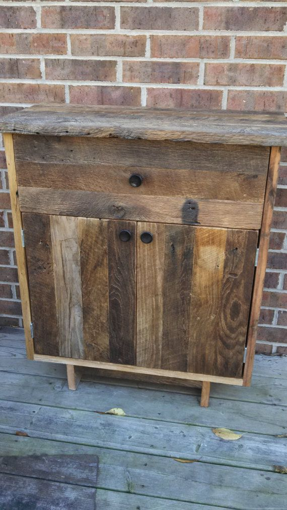 Your Reclaimed Recycled And Rustic Barn Wood Tall Cabinet