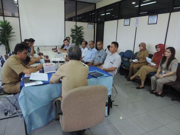 Penjelasan tujuan diadakannya acara ini oleh Kepala Sudin Jakarta Timur
