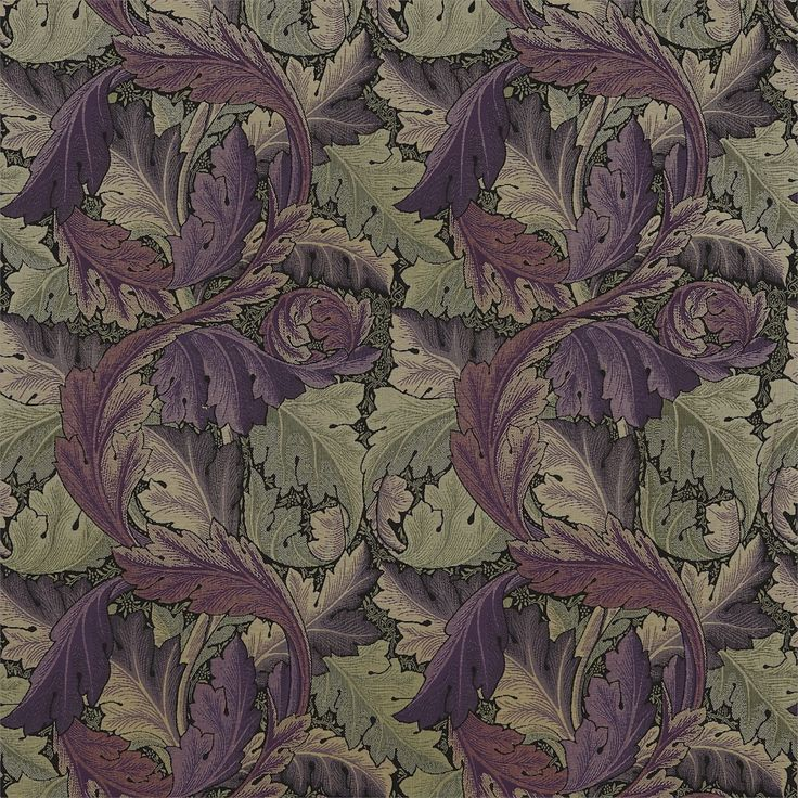 The Original Morris & Co - Arts and crafts, fabrics and wallpaper designs by William Morris & Company   Products   British/UK Fabrics and Wallpapers   Acanthus Tapestry (DM6W230271)   Archive Weaves