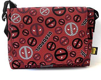 Deadpool Gift Deadpool Fabric Bag Geeky gift Geekery movie lover movie lovers gifts everyday bag Messenger bag geeky  Bag valentine gift