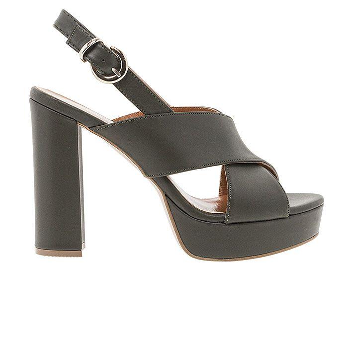 850F05-OILY LEATHER www.mourtzi.com #sandals #heels #mourtzi #greekdesigners
