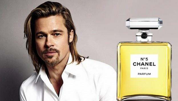 Brad Pitty - Garoto-propaganda do Chanel nº5