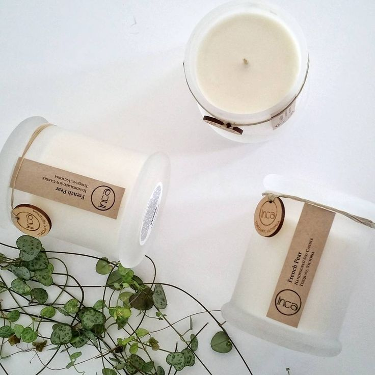 """88 Likes, 3 Comments - INCA Collective // Soy Candles (@incacollective) on Instagram: """"French Pear: what a perfect Mothers Day scent! Have plenty in stock, either contact us directly or…"""""""