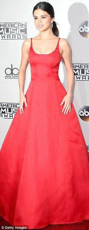 Pretty in Prada! Rock the red carpet like Selena Gomez #DailyMail Click 'Visit' to buy now