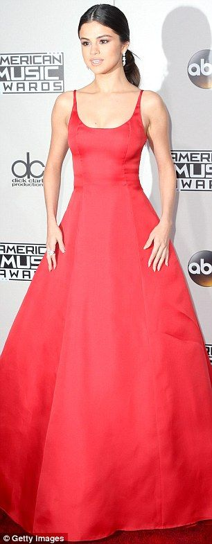 Pretty in Prada! Rock the red carpet like Selena Gomez #DailyMail Click 'Visit' to buy now