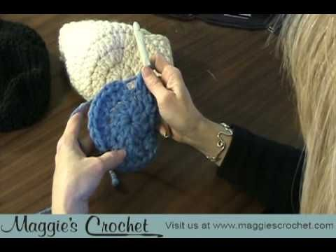 FREE HAT PATTERN - SUPER EASY Maggie's Crochet - Maggie Weldon