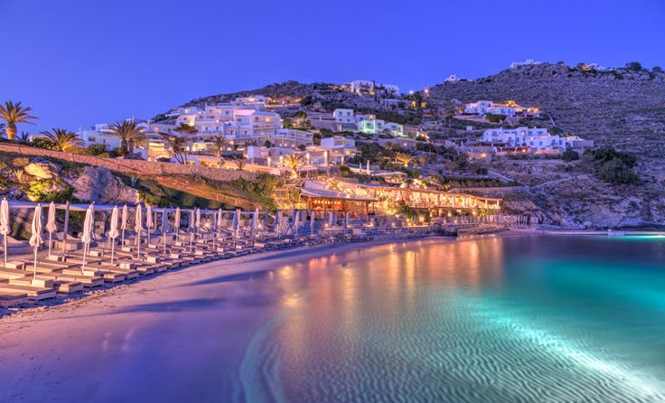 Welcome to Santa Marina Resort & Villas, a luxury collection resort in Mykonos  #PrivateBeach