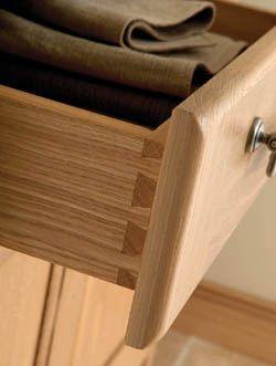 Solid Oak drawer boxes