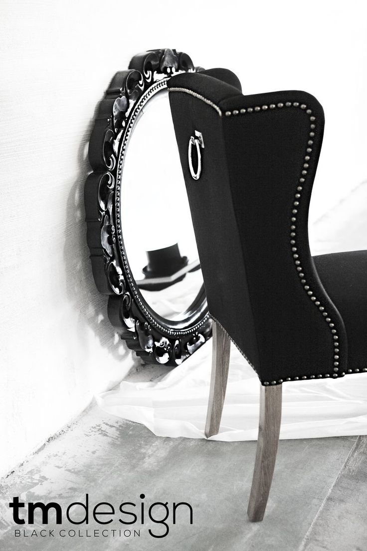 Fantastic Heaven dining chair and the great mirror... TM Design