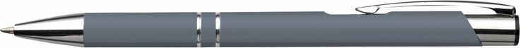 Alumínium golyóstoll, szürke (toll)
