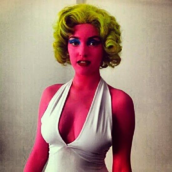 Fashionably Kate: Eerie Inspiration for Easy Halloween Costumes - Andy Warhol's Marilyn Monroe
