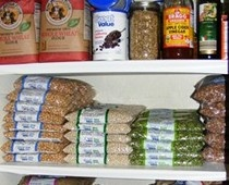 What do you need to keep on hand to create a meal or special treat on a moments notice? Here's a list of items to keep in your well-stocked pantry or cupboards