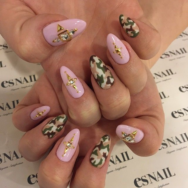 The 25 best hunting camo nails ideas on pinterest camo nails camo nails nails nailart gelnail japanesenail design naildesign esnail prinsesfo Choice Image