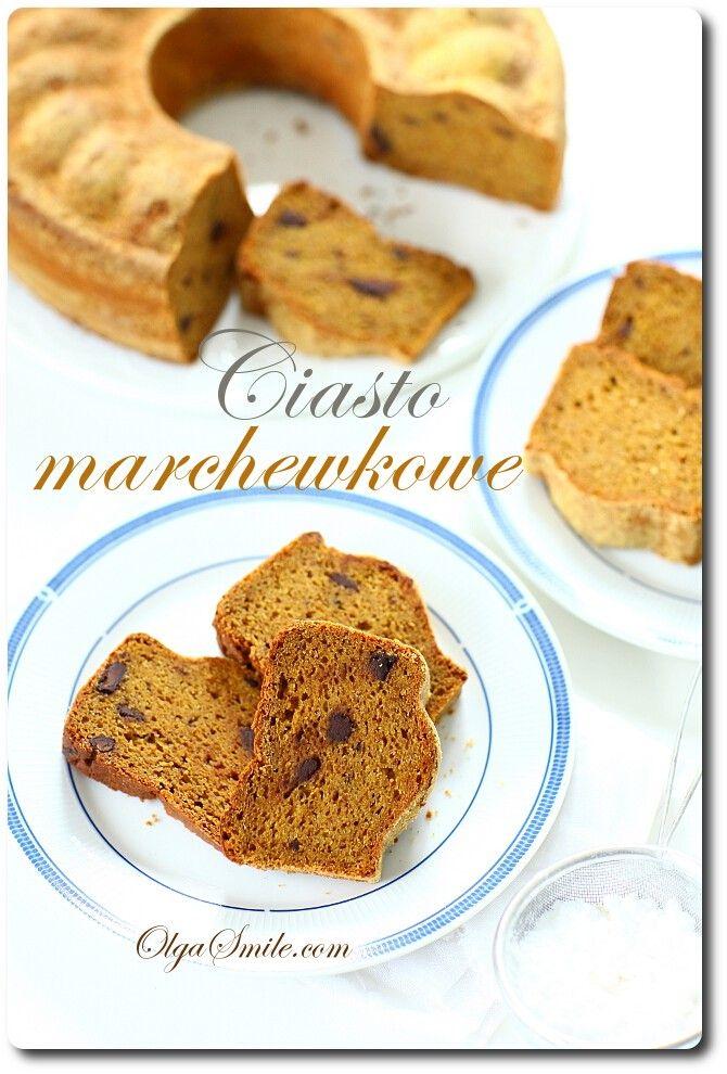 Ciasto marchewkowe - przepis Olgi Smile