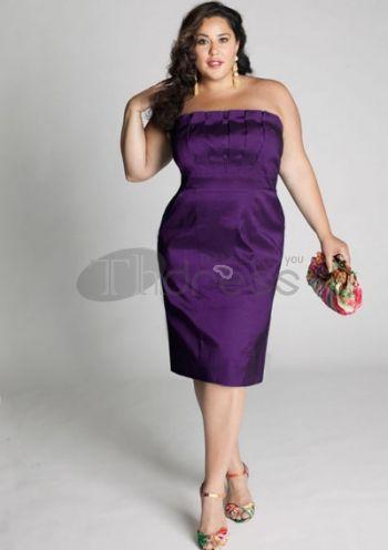 Plus Size Evening Dresses-plus size evening dress Cybelle Cocktail Dress in Orchid