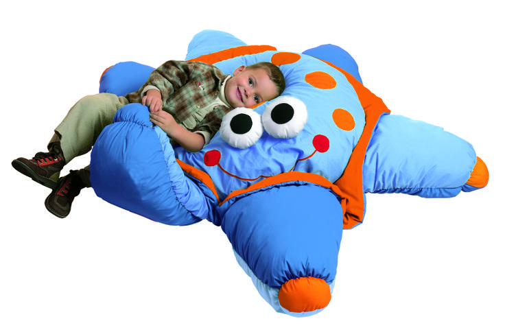 Large, comfy and multi-textured cushions from #Wesco. Your little ones will LOVE snuggling with these giant pillows.