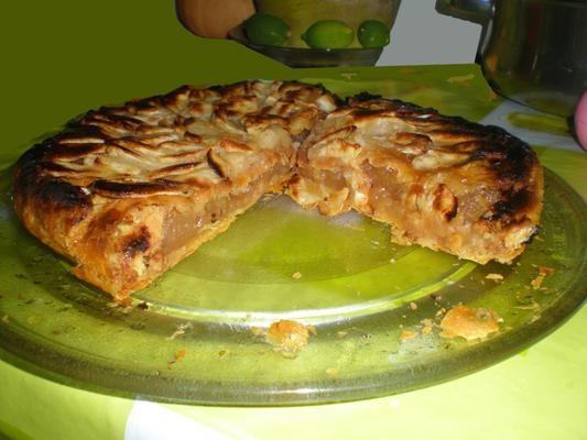 Tarta clásica de manzana