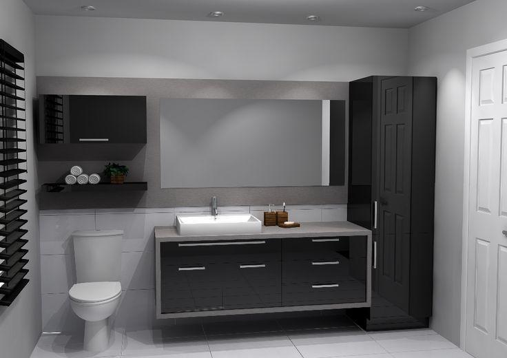 cool Idée décoration Salle de bain - Armoire salle de bain - Kulina armoires de cuisine et salle de bain Québec