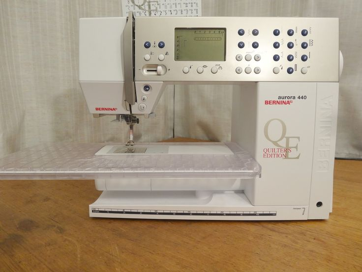 Bernina Aurora 440 QE Review