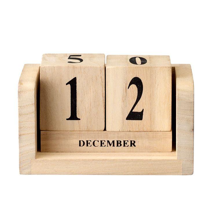 Bloomingville kalenderterninger tre | Ting
