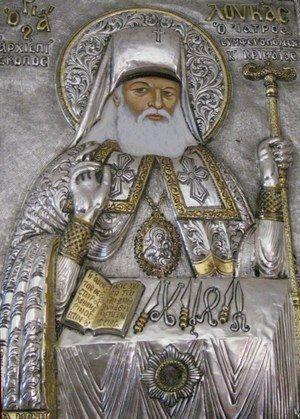 Greek icon of St. Luka - russian saint surgeon (XX century) Как святитель Лука стал греческим святым : Православие и мир