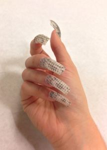 The Laser Girls 3D printed nails