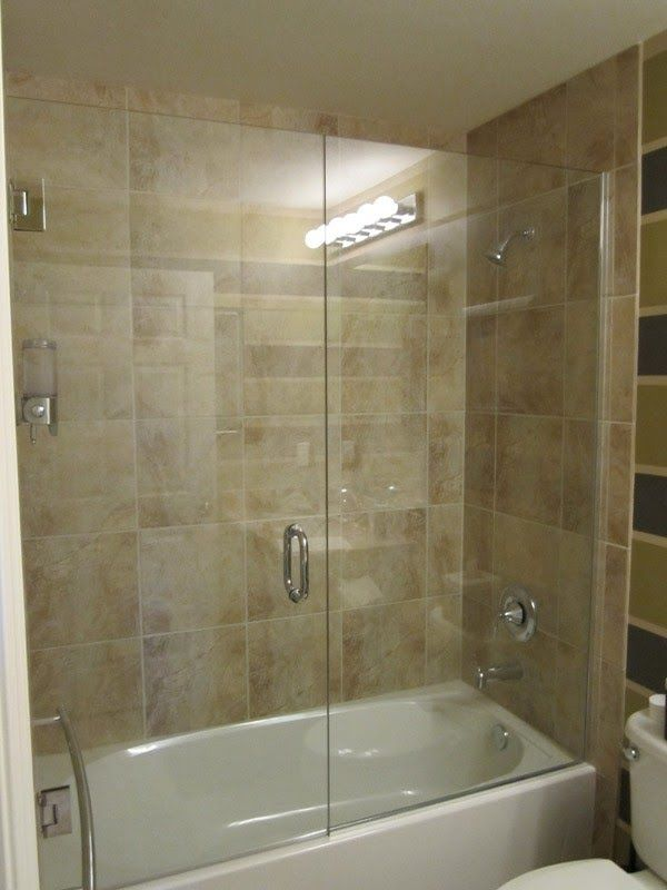 Doors Steam Shower Tub Trackless