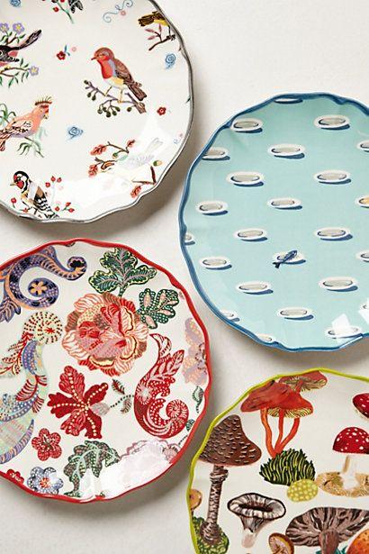 Nathalie Lete Dessert Plates