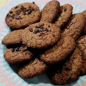 Cookies integrais com Farinha de Coco