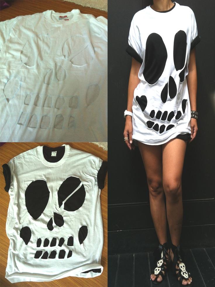 T-Shirt : Skull