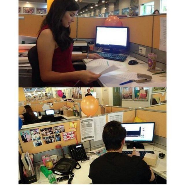 May opening ba kayo diyan?  I'll do everything para makapasok sa company na yan! basta ba officemates ko silang dalawa.  Everyday I Love You NOW SHOWING! 16 MILLION Php in first day  Certified Mega BlockBuster Hit!  Follow me LizQuens ♥ #NationalILoveYouDay #October28IsNationalILoveYouDay #EverydayILoveYou #pushawardslizquens #LizQuen #TeamForever #EnriqueGil #LizaSoberano