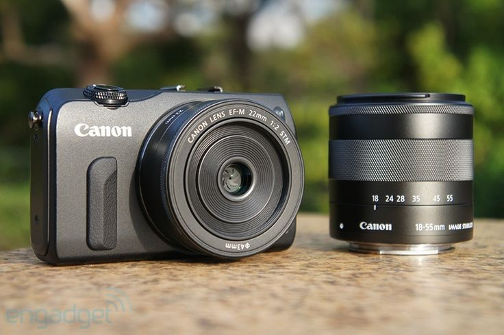 Finally,...Canon launch mirrorless camera,...Canon EOS M