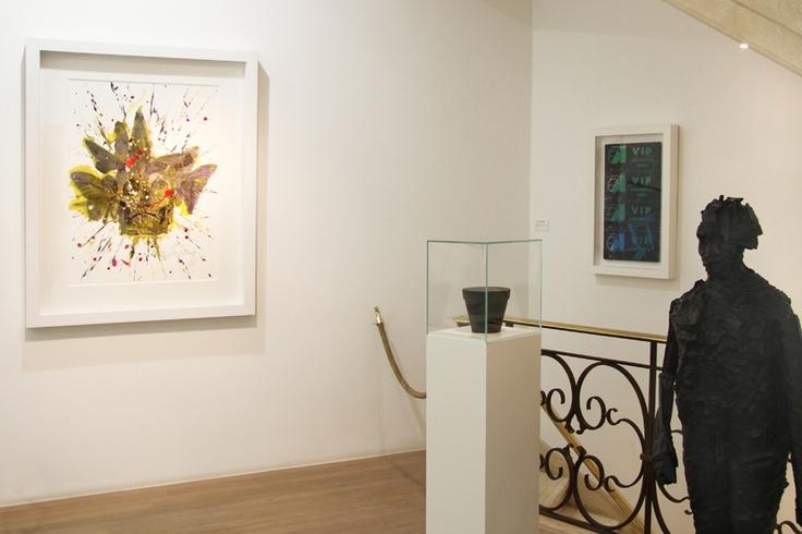 Philippe Pasqua - Andy Warhol - Jean-Pierre raynaud - César