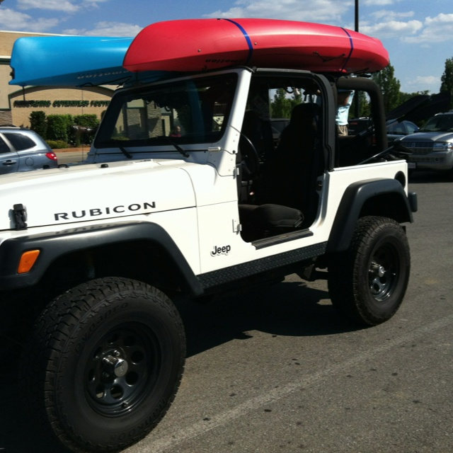 Summer Fun Jeep Kayaks Boyfriend Jeep Tops Jeep