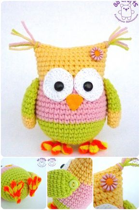Amigurumi Top Yapilisi : 738 best images about Uilen en uilpatronen on Pinterest ...