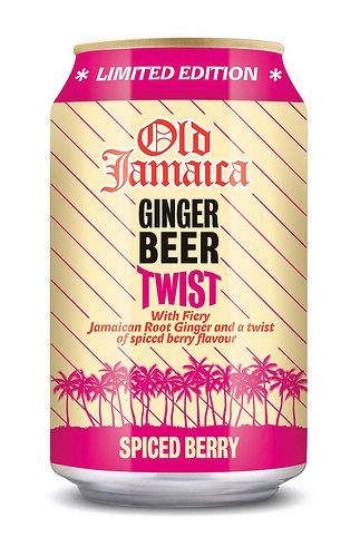 Old Jamaica Ginger Beer Twist, Spiced Berry
