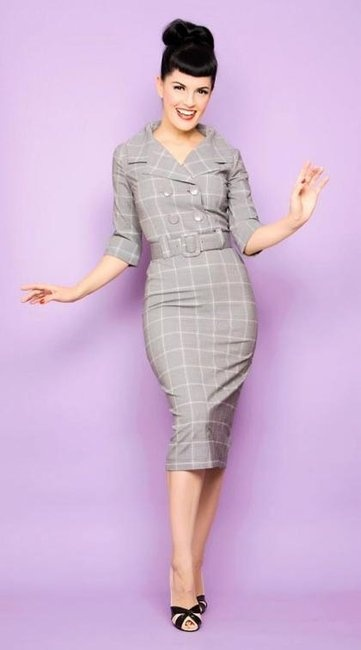 Bettie Page Dress  (Pre-owned Dresses, The Substitute, Classic Retro)