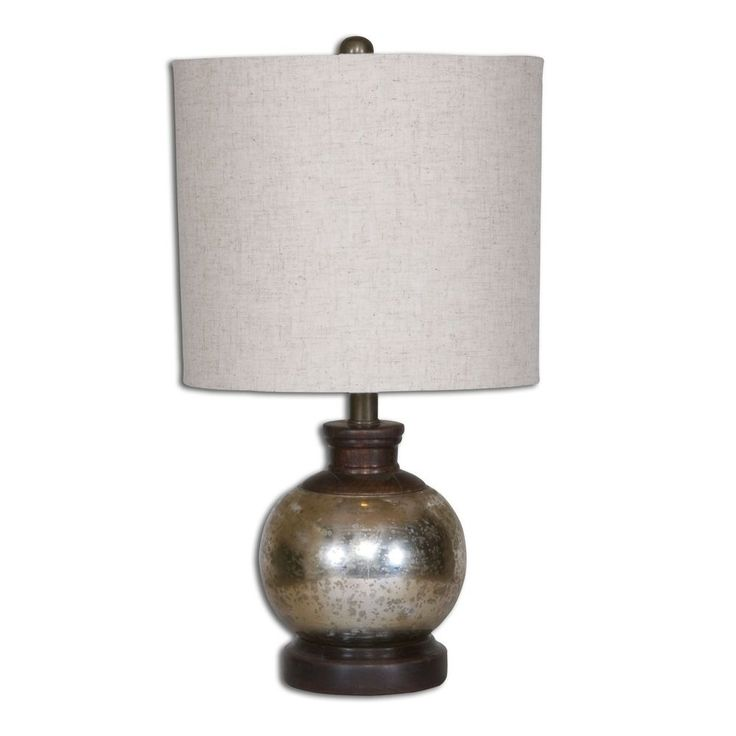 Uttermost Arago Antique Glass Table Lamp