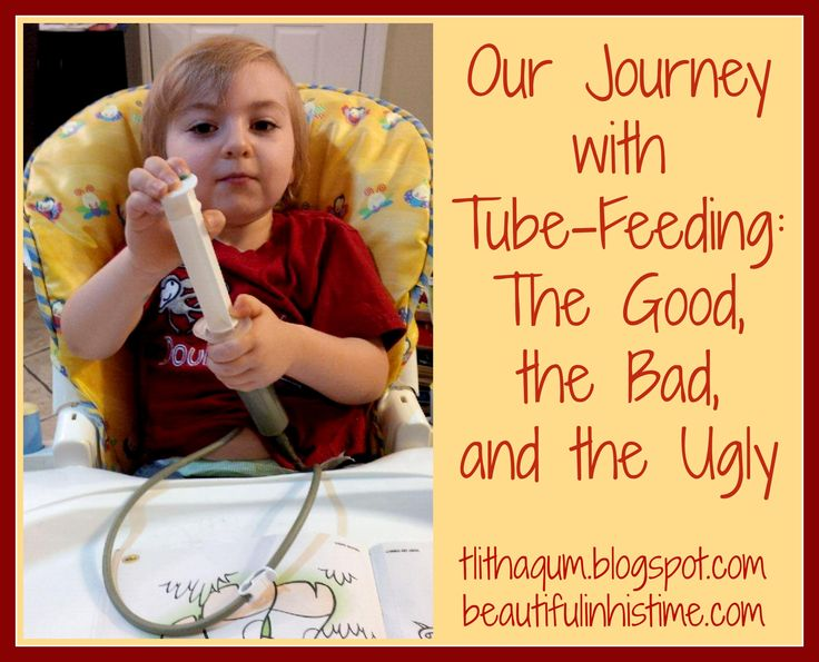 Our Journey with Tube-Feeding: The Good, The Bad, and The Ugly ...from 31 Days of Supporting the Special Needs Family via Beautiful in His Time