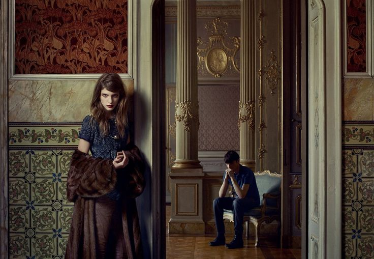 Fashion photography by Erwin Olaf for Grey