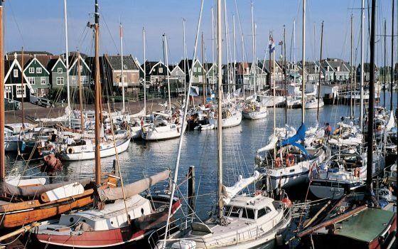 Marken harbour, Netherlands
