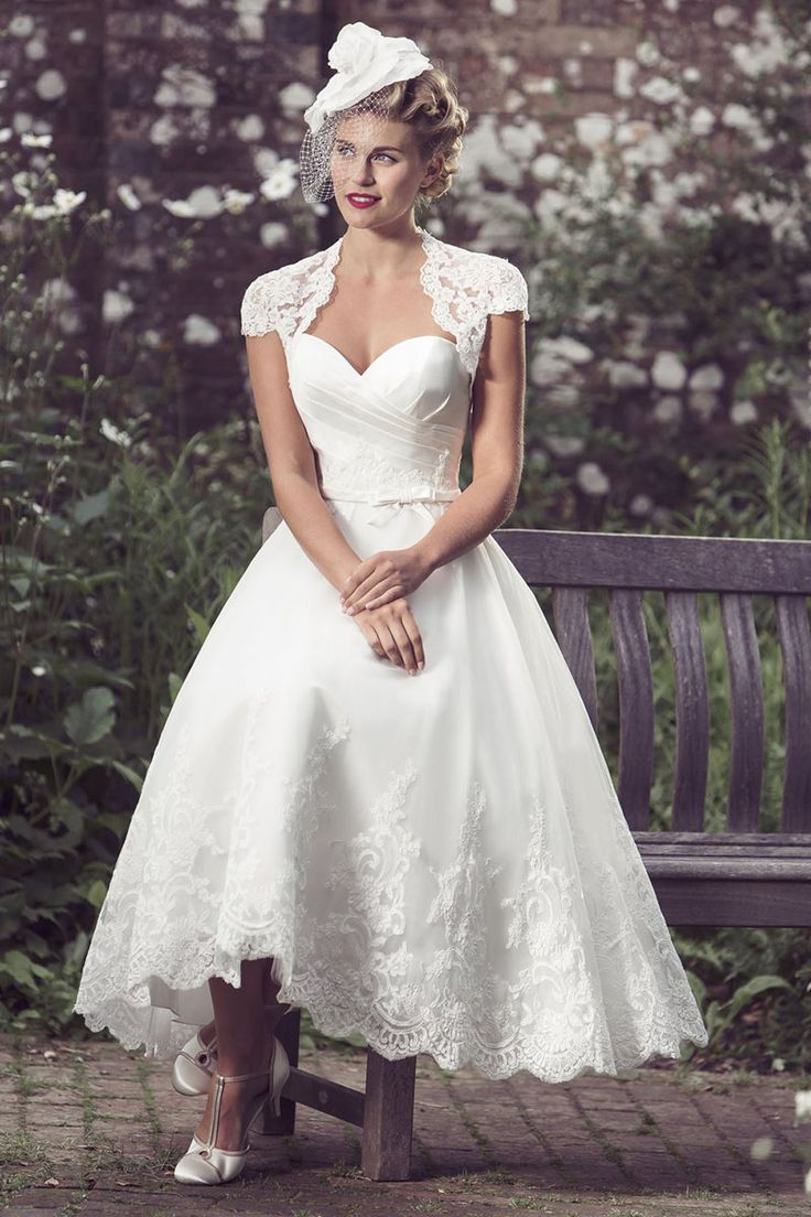 Coco Chanel Inspired Wedding Dresses