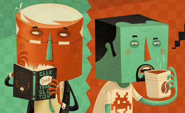 It's all GEEK to me... by Steve Simpson, via Behance