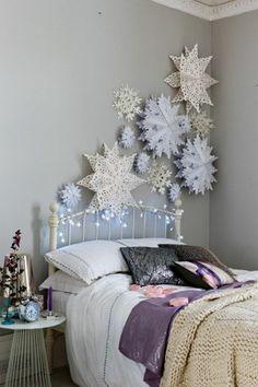 Ideal kreatives basteln schlafzimmer wanddeko papier