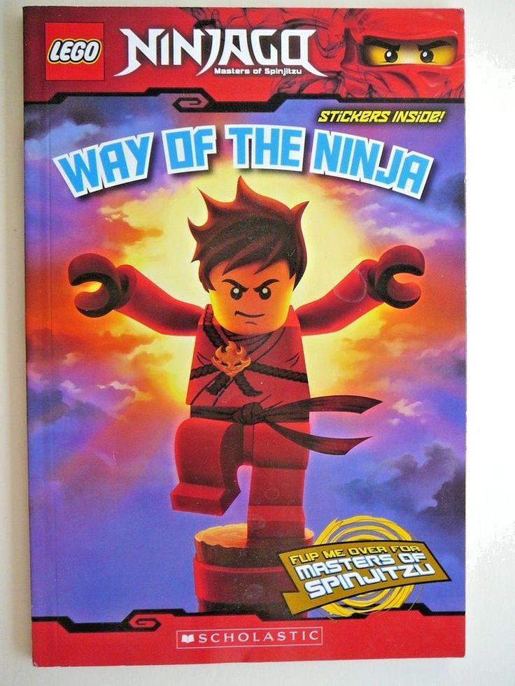 Lego Masters of Spinjitzu Ninjago Way of the Ninja Martial Arts Double Stickers!