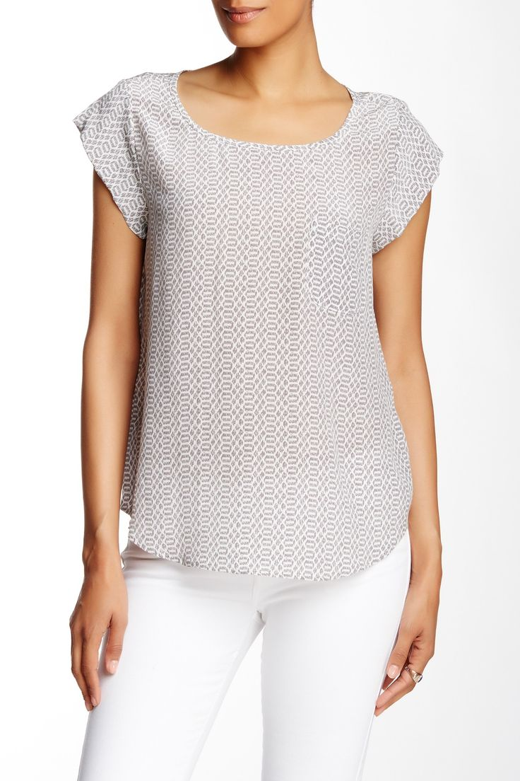 Rancher Silk Blouse by Joie on @nordstrom_rack