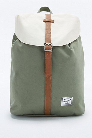 "Herschel Supply Co. – Rucksack ""Post"" in Grün"